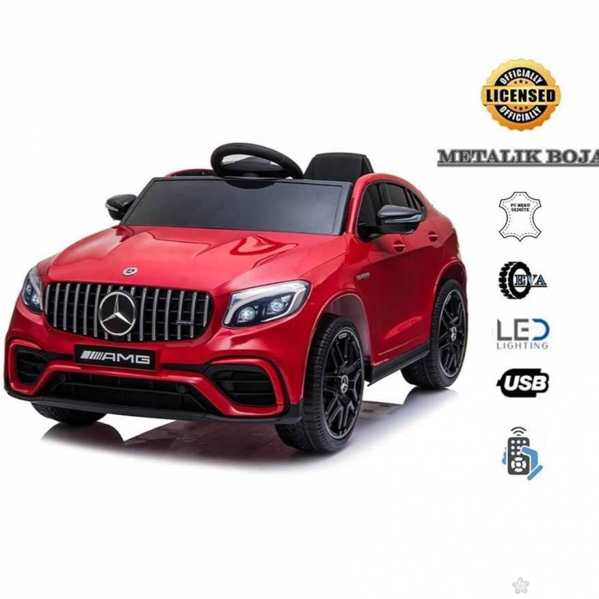 Mercedes Bent GLC model 247-1, metalik crveni