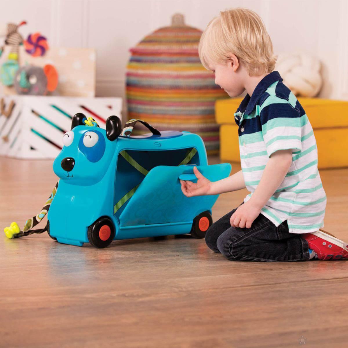 B toys dečiji kofer i guralica Kuca 312051