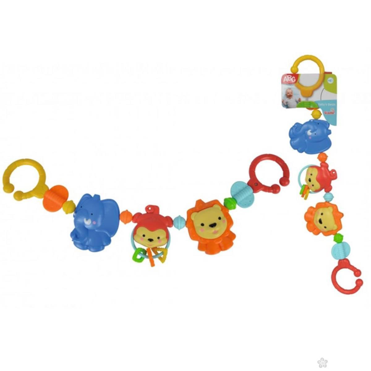 Baby ABC Zvecka za kolica Simba