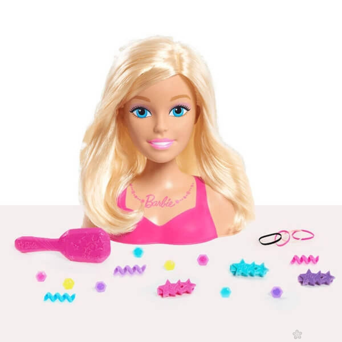 Barbie glava za ukrašavanje mala JP62535