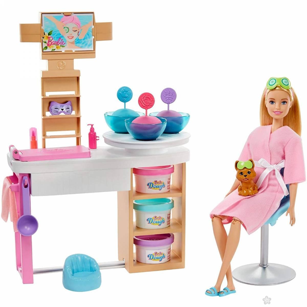 Barbie i ljubimac u spa salonu GJR84