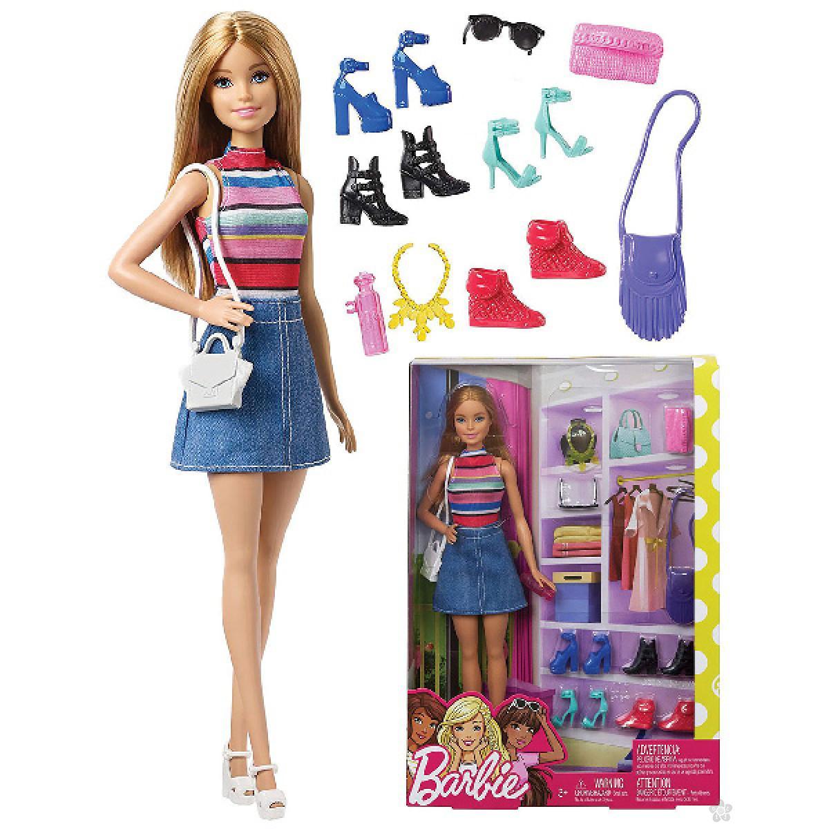 Barbie sa aksesoarima FVJ42