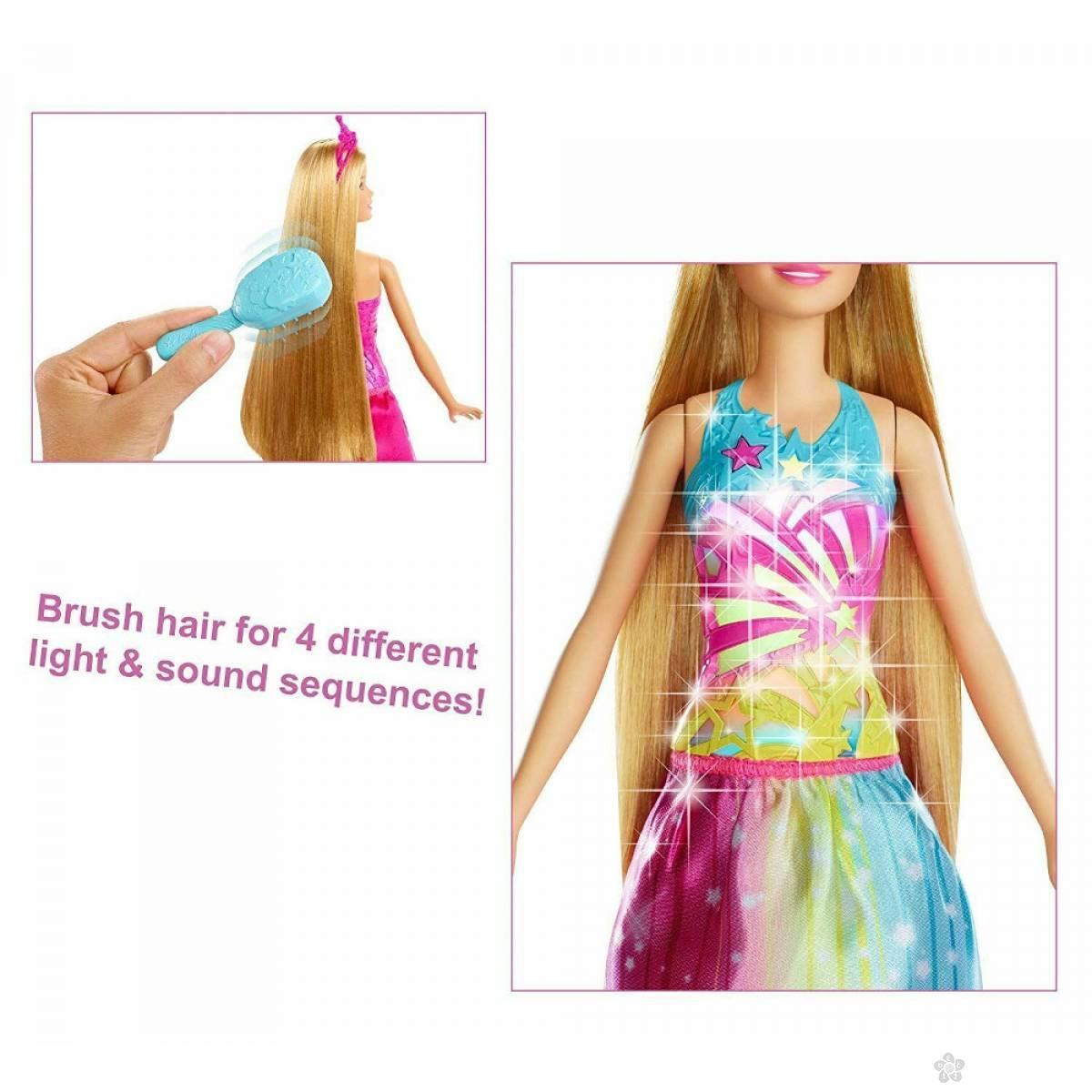 Barbie lutka Dreamtopia svetlucava princeza MAFRB12