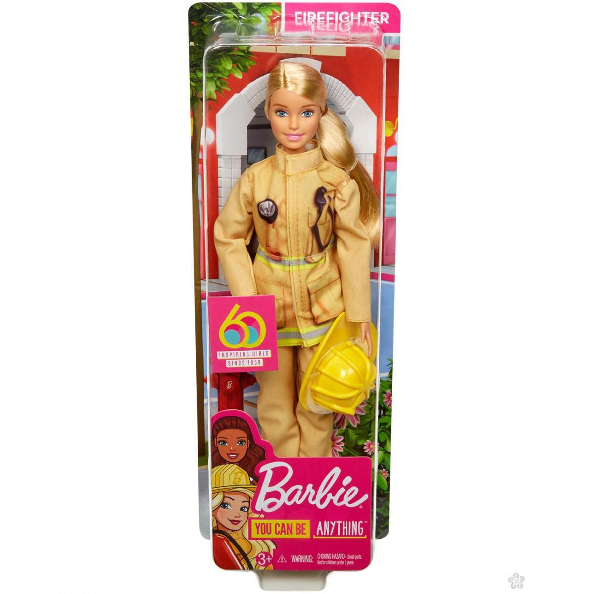 Barbie lutka vatrogasac GFX29