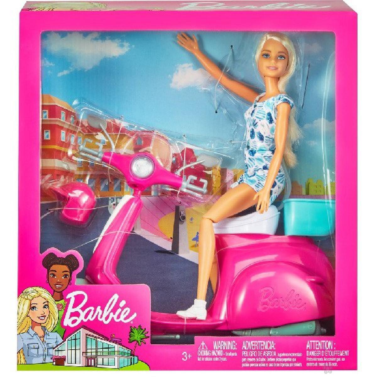 Barbie lutka na motoru GBK85