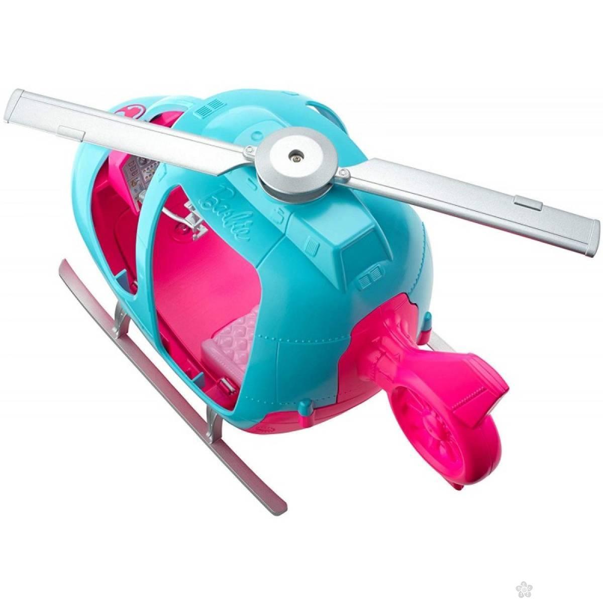 Barbie travel-veliki helikopter MAFWY29