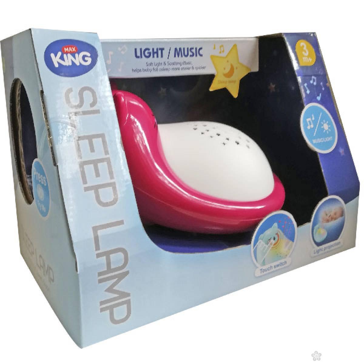 Bebi muzička noćna lampa 21173