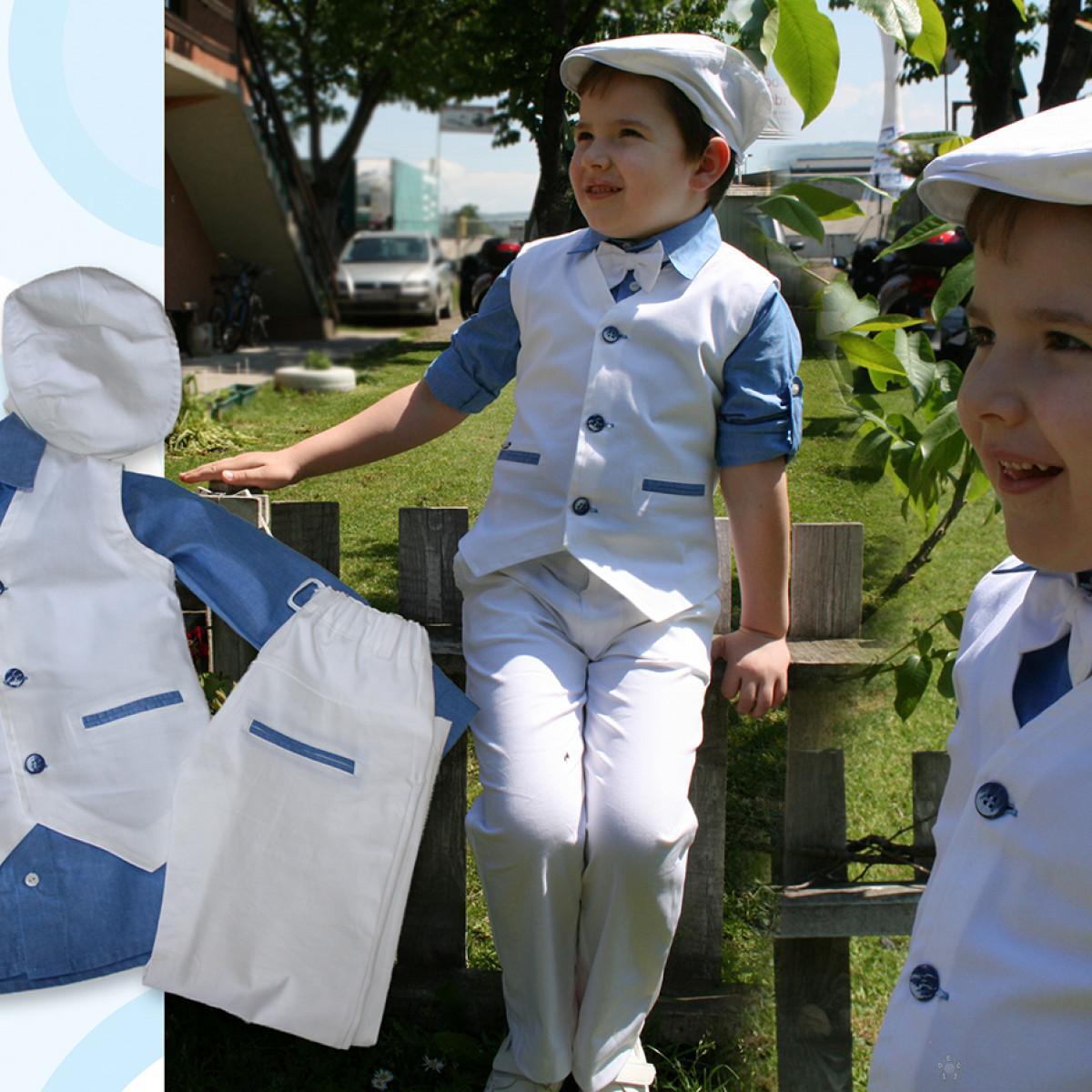 Košulja plave boje za dečake