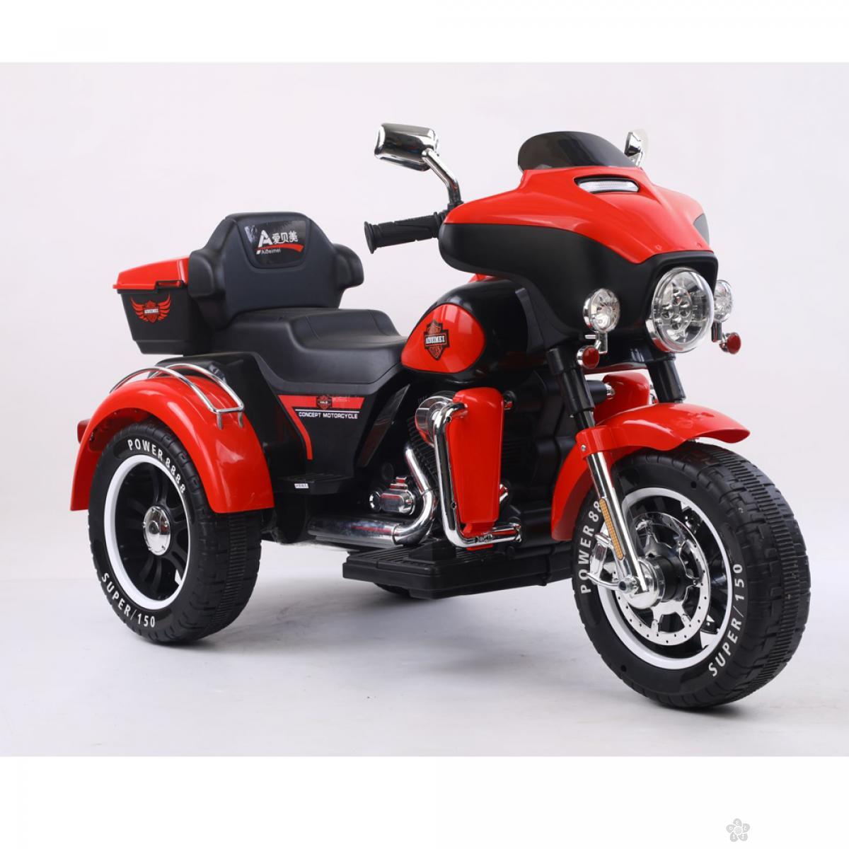 Motor na akumulator, model 121 crvena