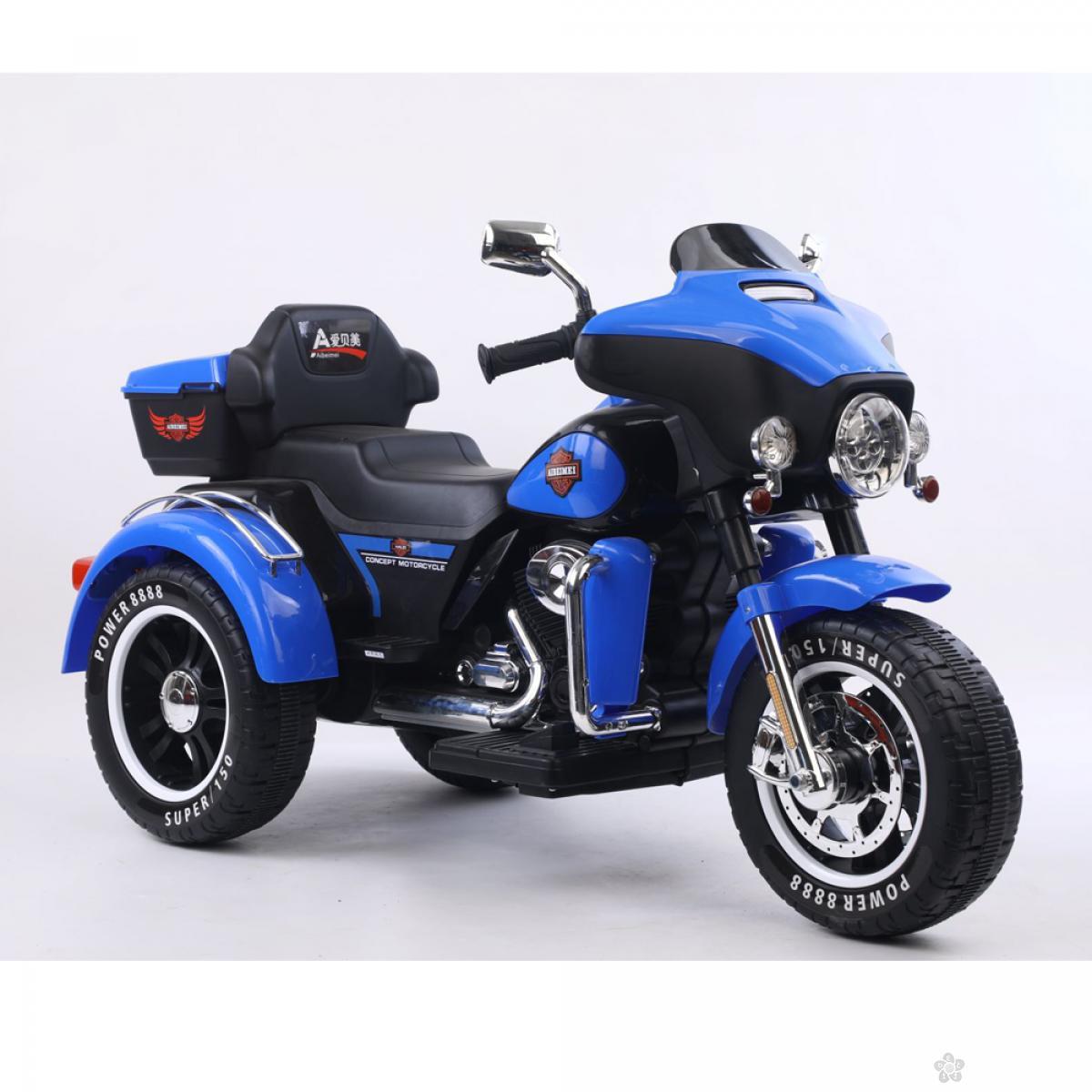 Motor na akumulator, model 121 plava