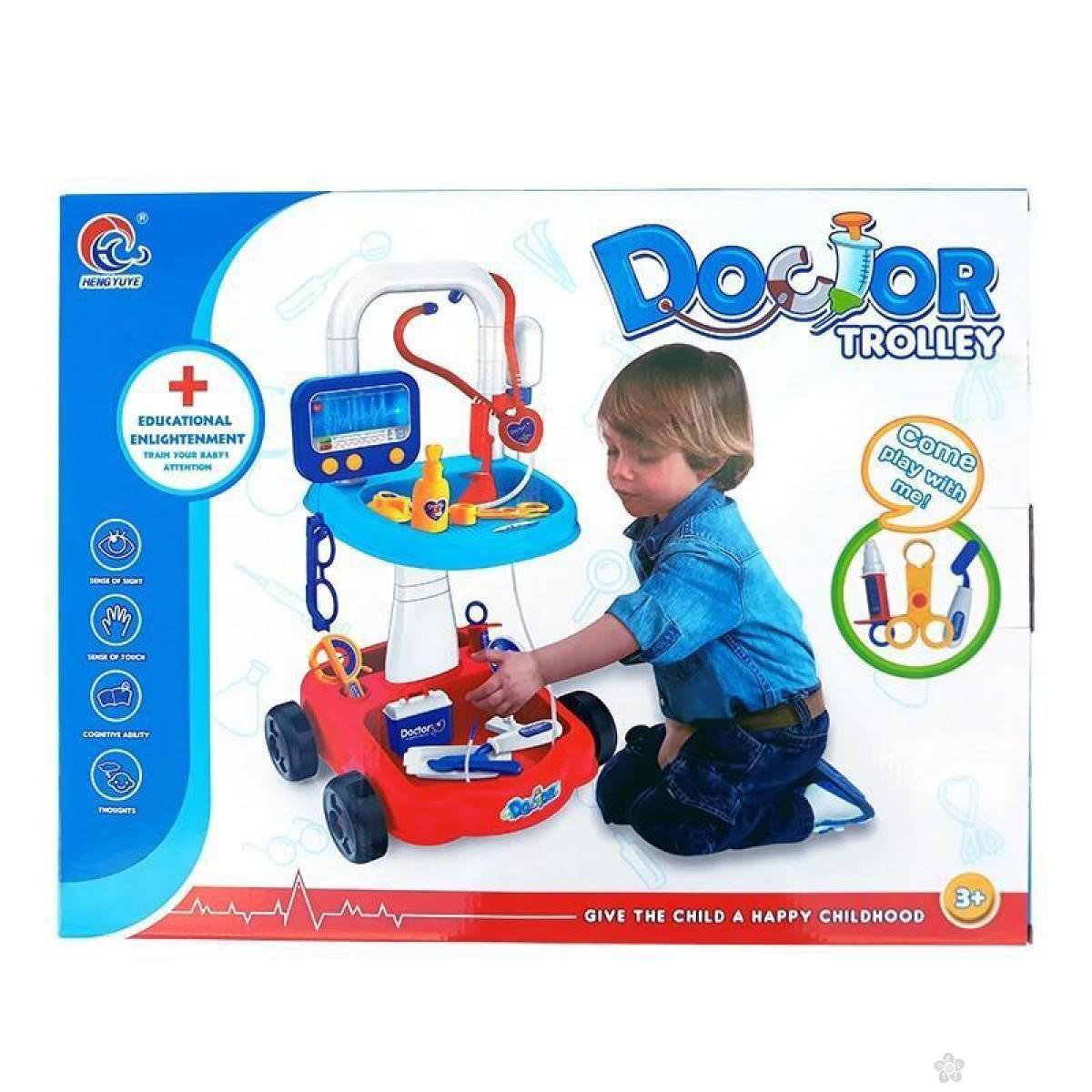 Doktor set u kolicima