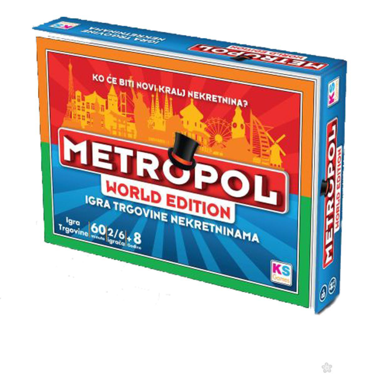 Društvena igra Metropol