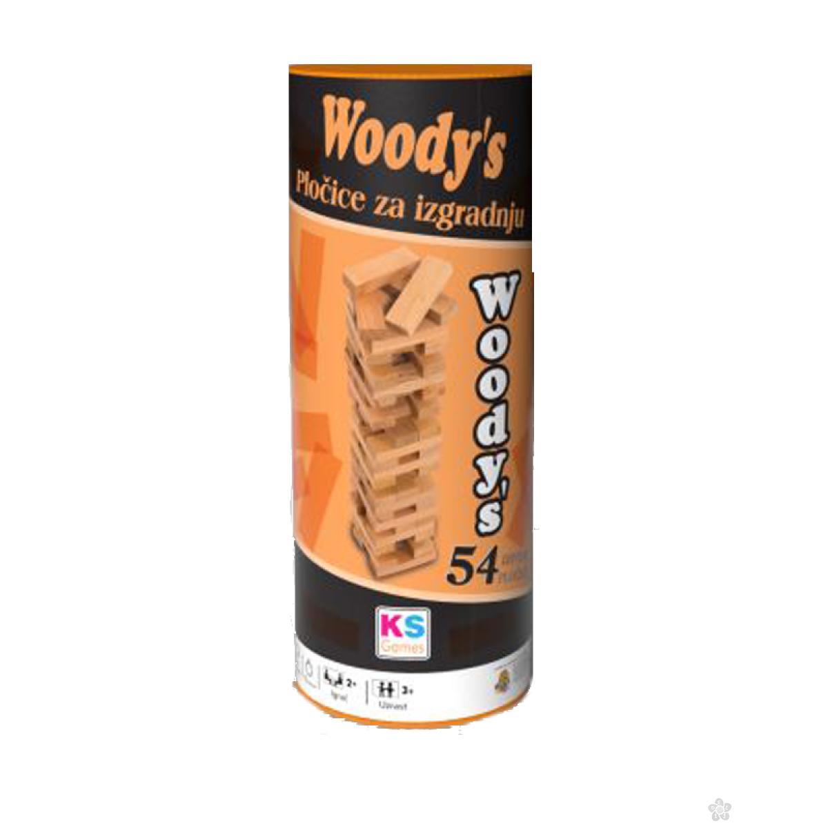 Drvene pločice Woody's