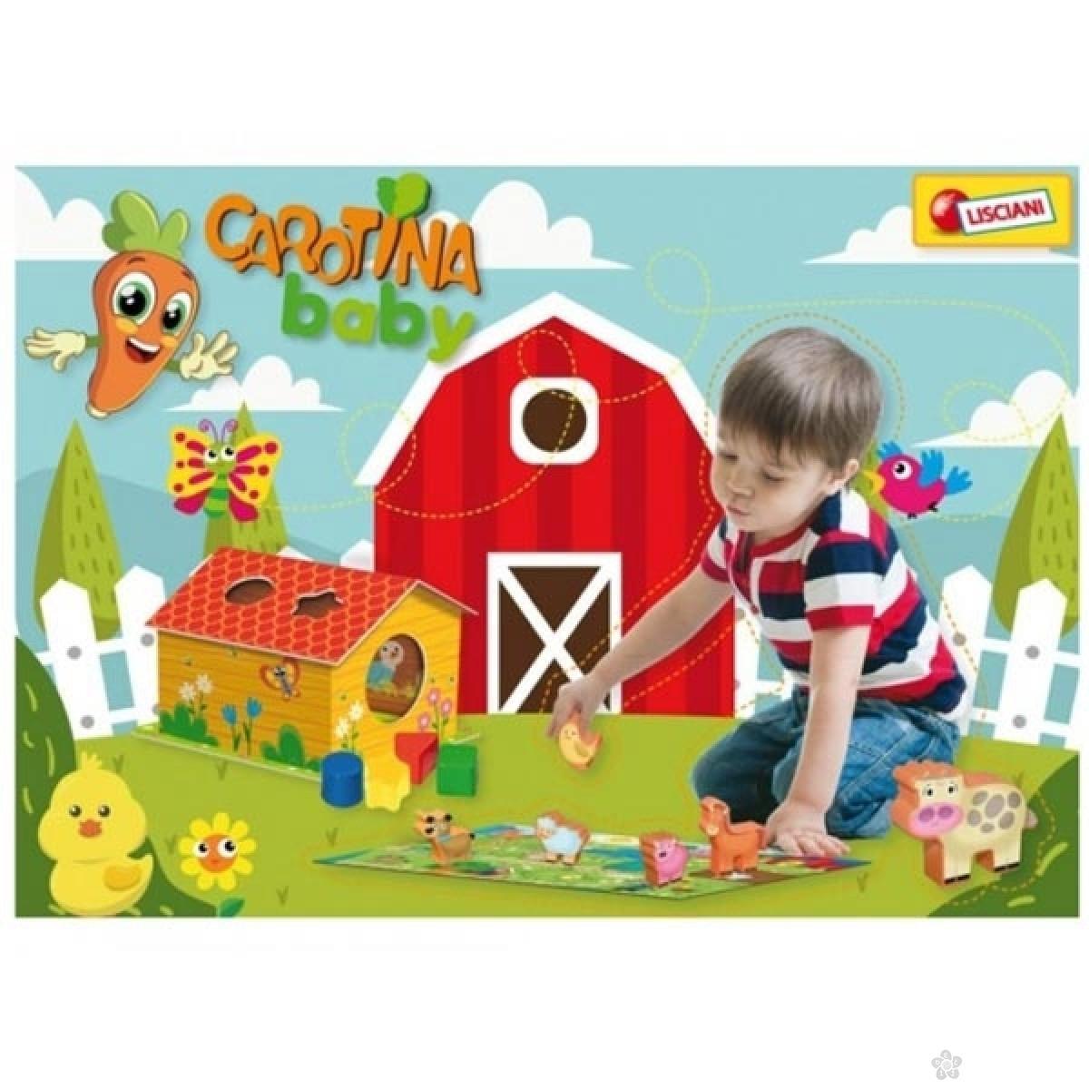 Edukativna igra slagalica Happy Farm 42165