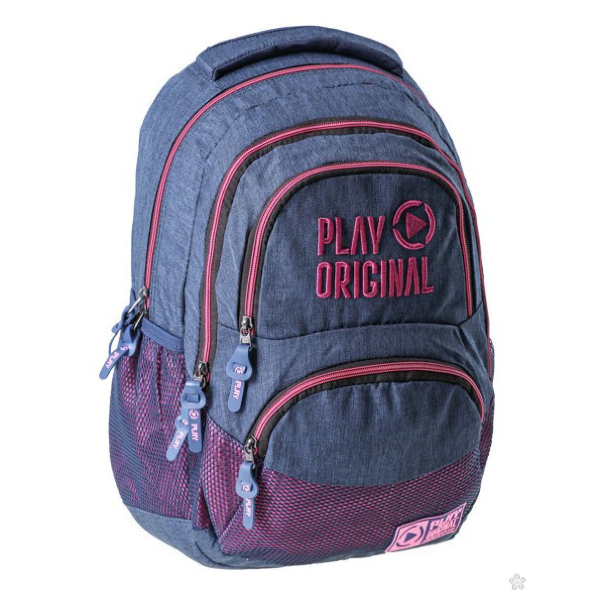 Ergonomski ranac Axor Play Original jeans&pink 162101