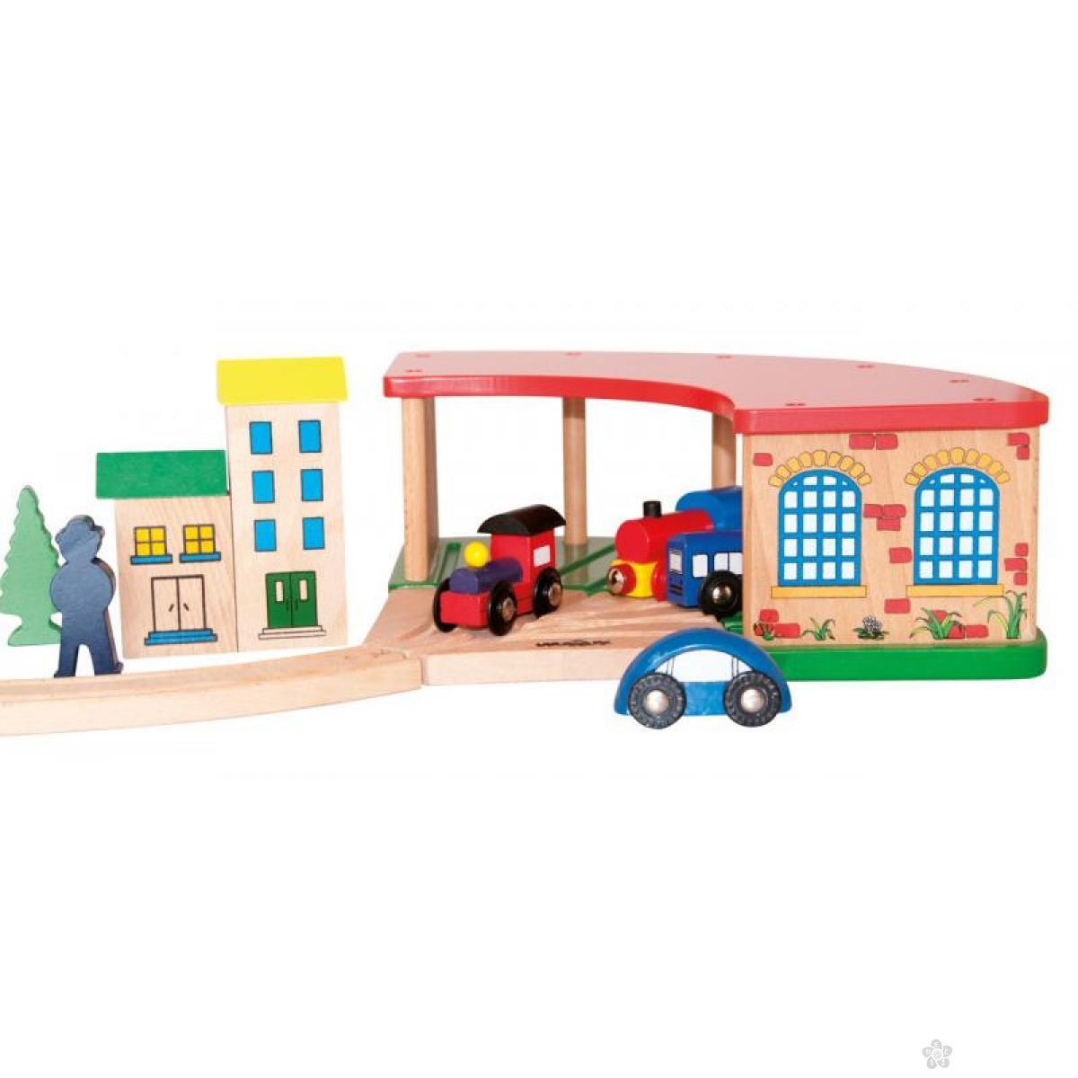 Garaža za lokomotivu 90816