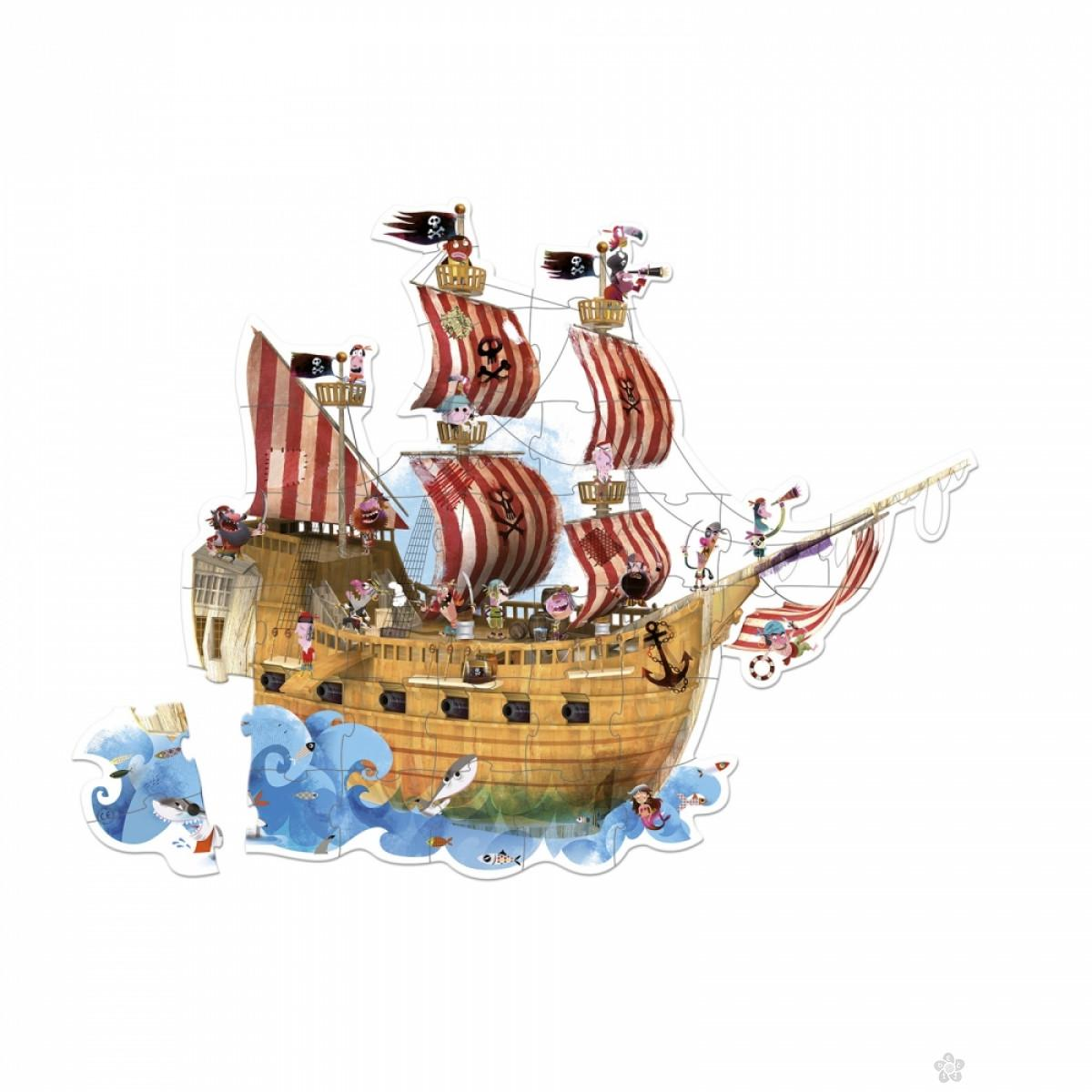 Giant Puzzle Gusarski brod J02819