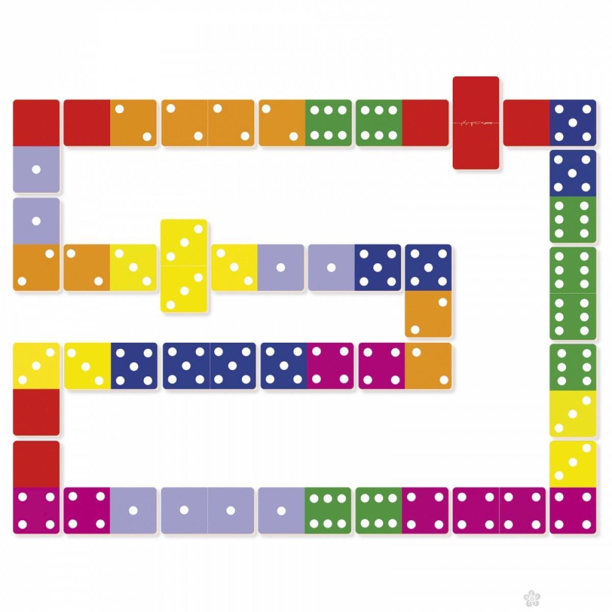 Igra asocijacija domine Džungla J02771