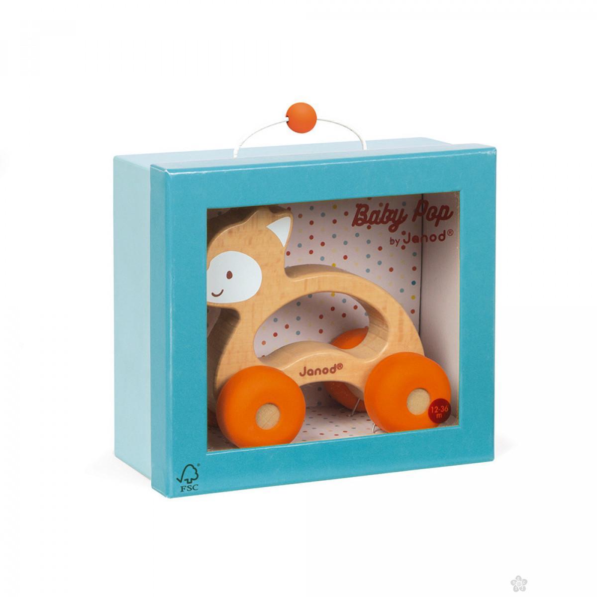 Igračka za bebe Baby Pop Lisica J04614