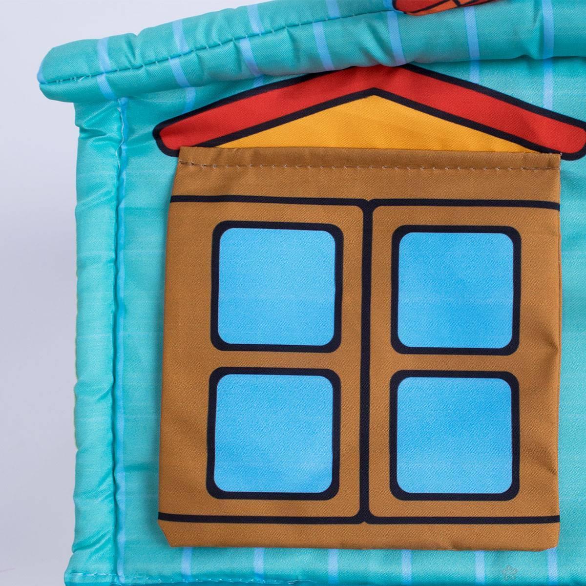 Jungle gimnastika sa kućicom i lopticama 013002