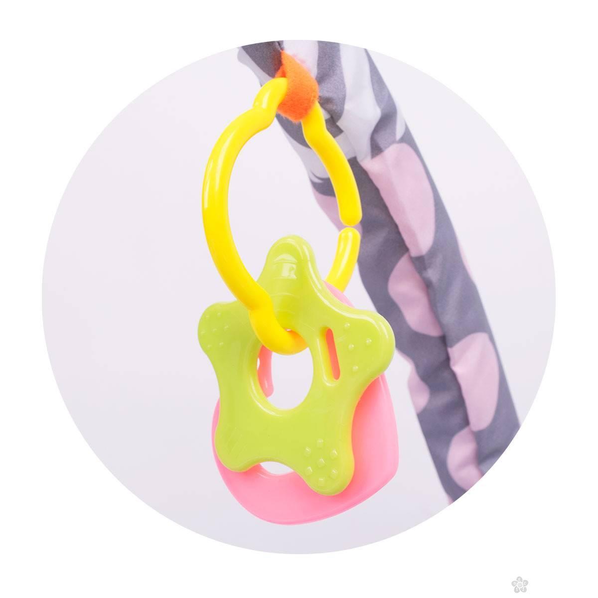Jungle podloga sa gimnastikom i lopticama 013009