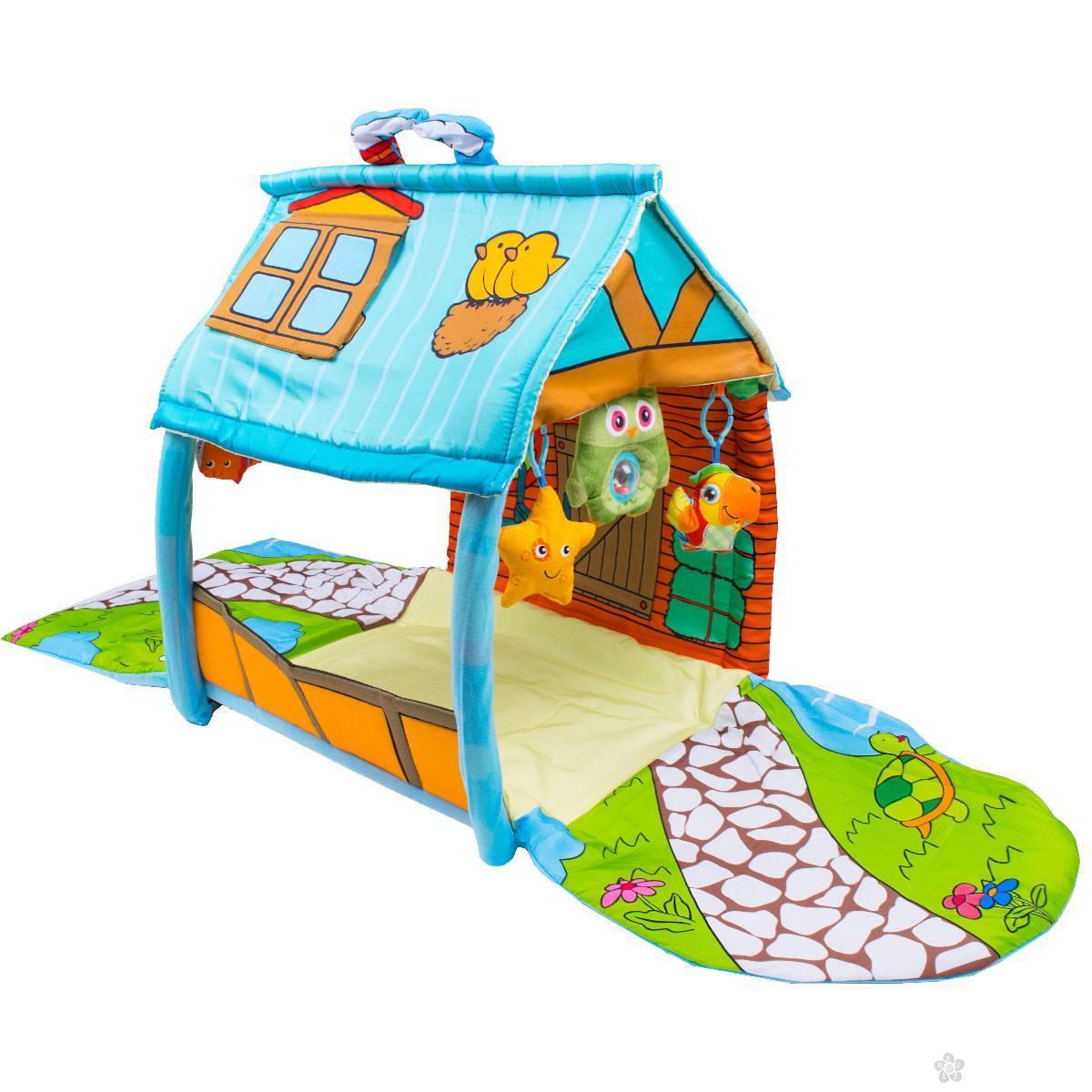 Jungle podloga sa kućicom 013004