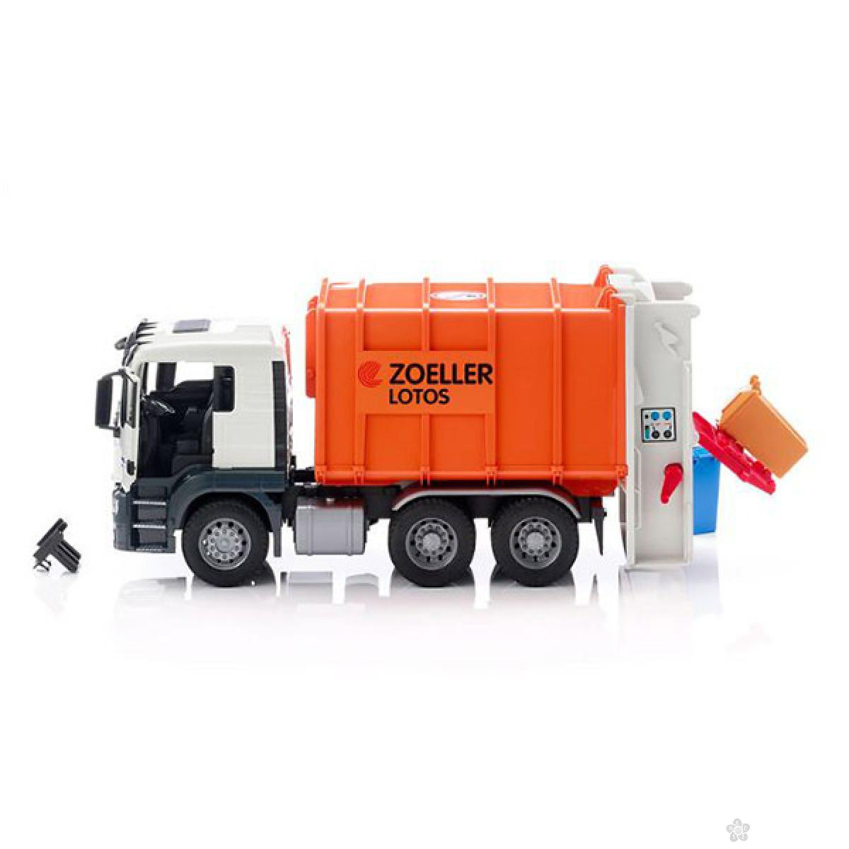 Kamion MAN TGS za odvoz đubreta 037628
