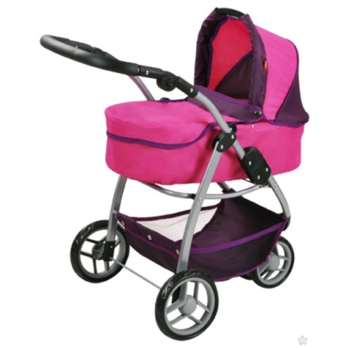 Kolica za lutke Knorr Toys Cico Pink 90439