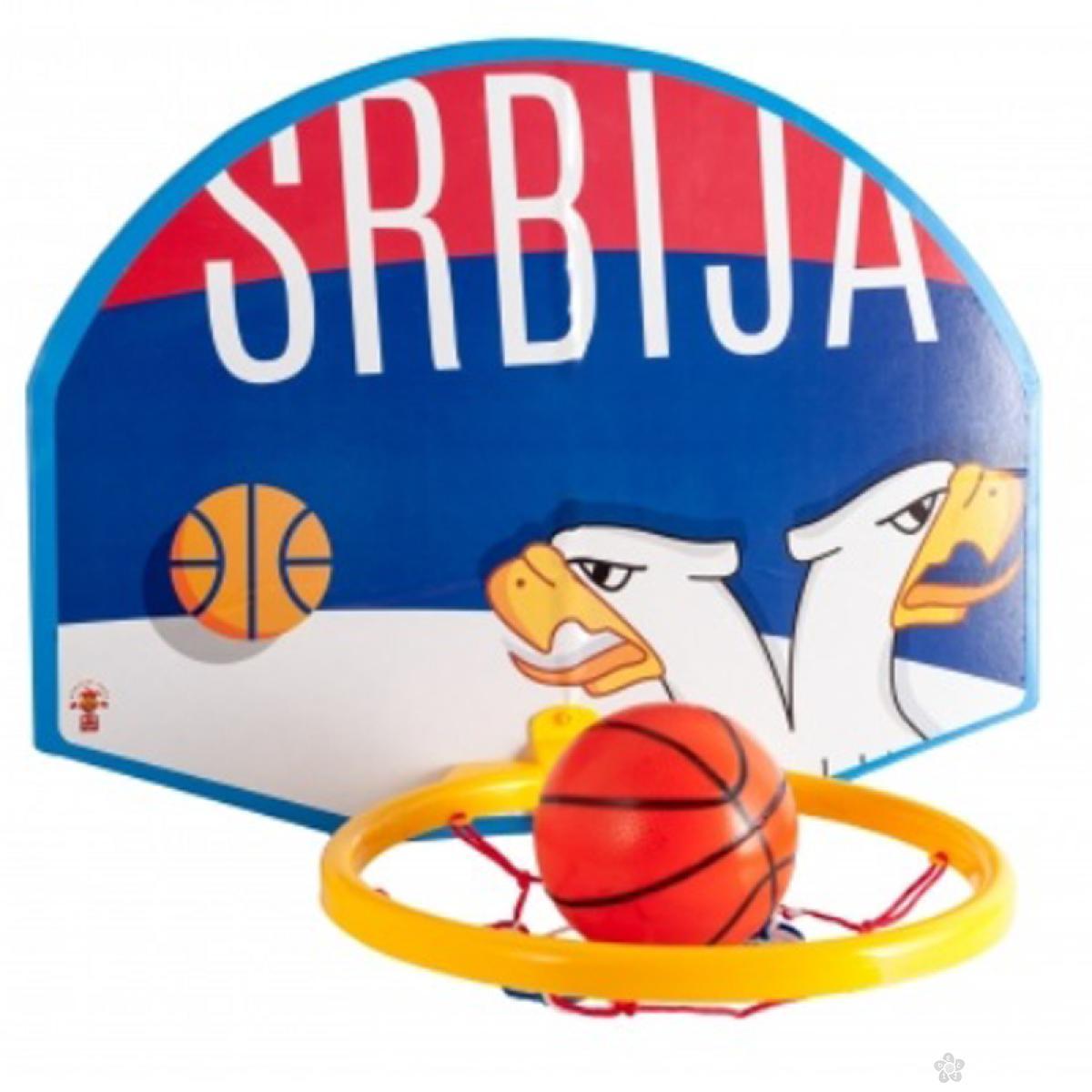 Kosarkaski set sa loptom Srbija 33108
