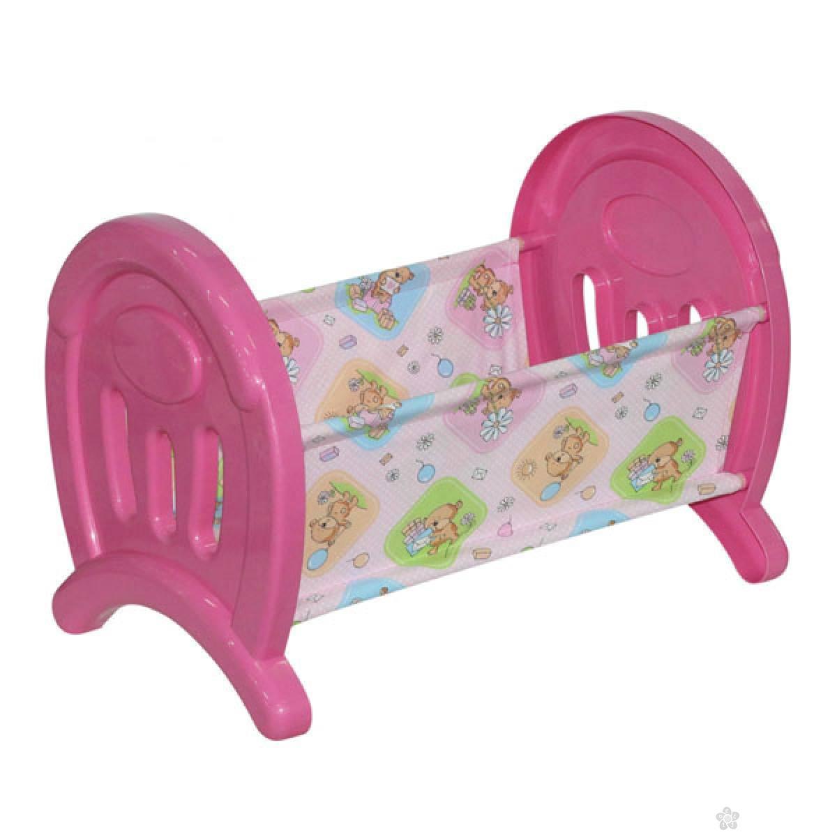 Krevetac za lutke Polesie 55996