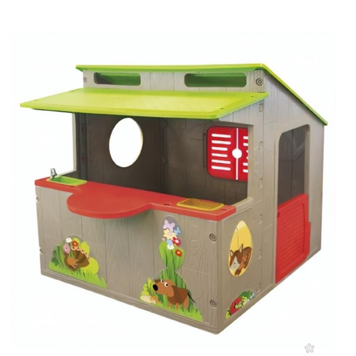 Kućica za dvorište kiosk-prodavnica 46175