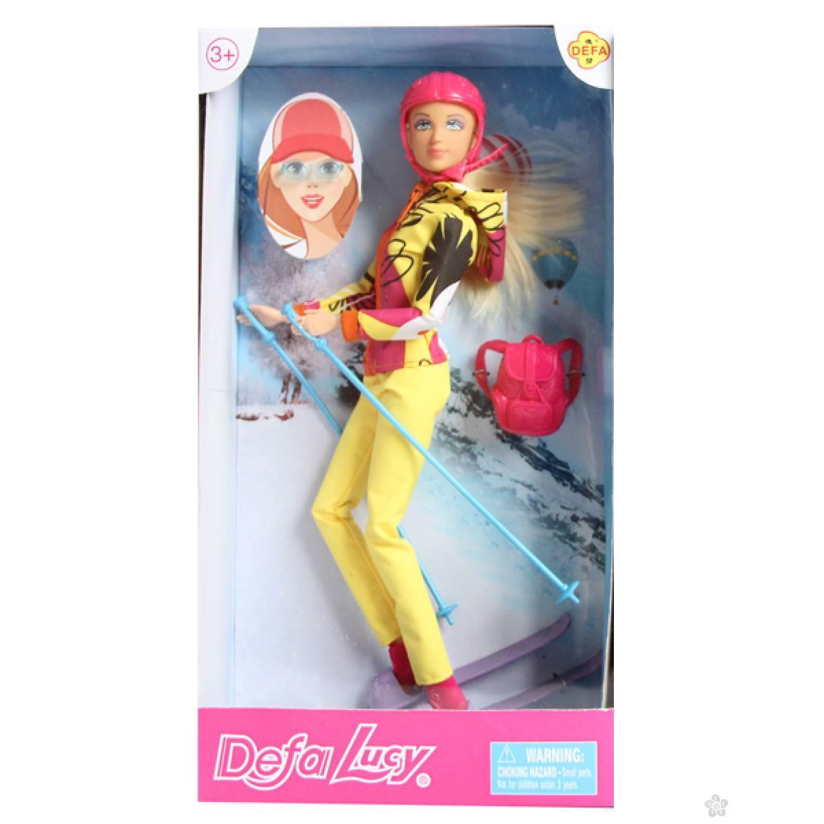 Lutka Defa skijašica 83733