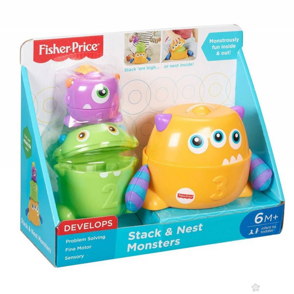 Edukativna igračka Monster Stack FNV36