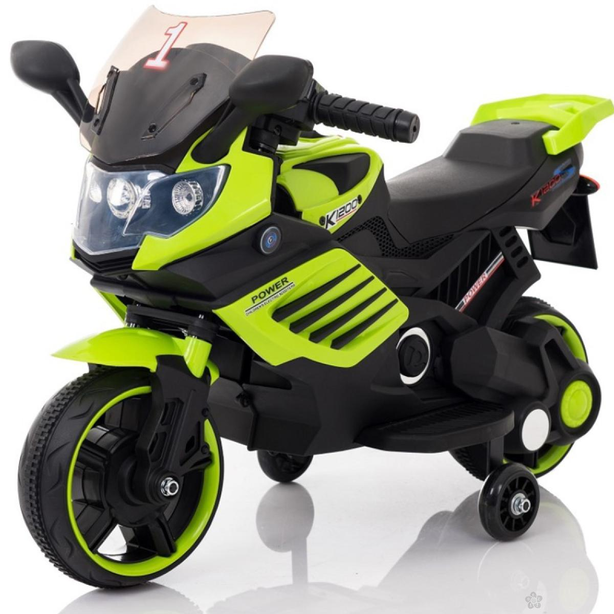 Motor na akumulator, model 116 zeleni
