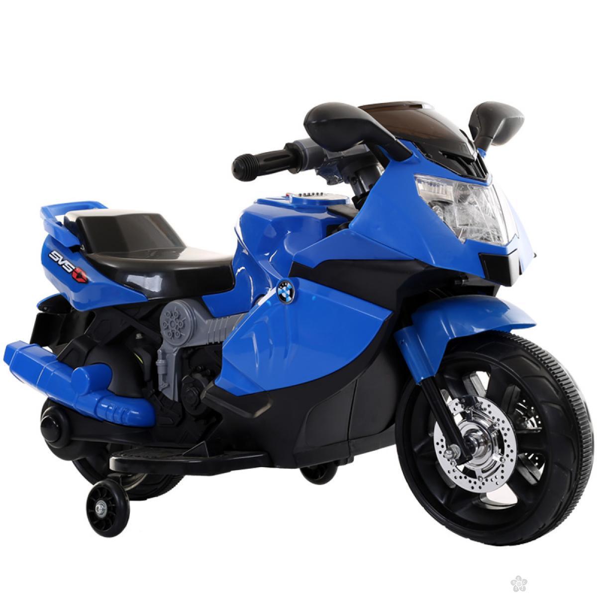Motor na akumulator, model 117 plavi