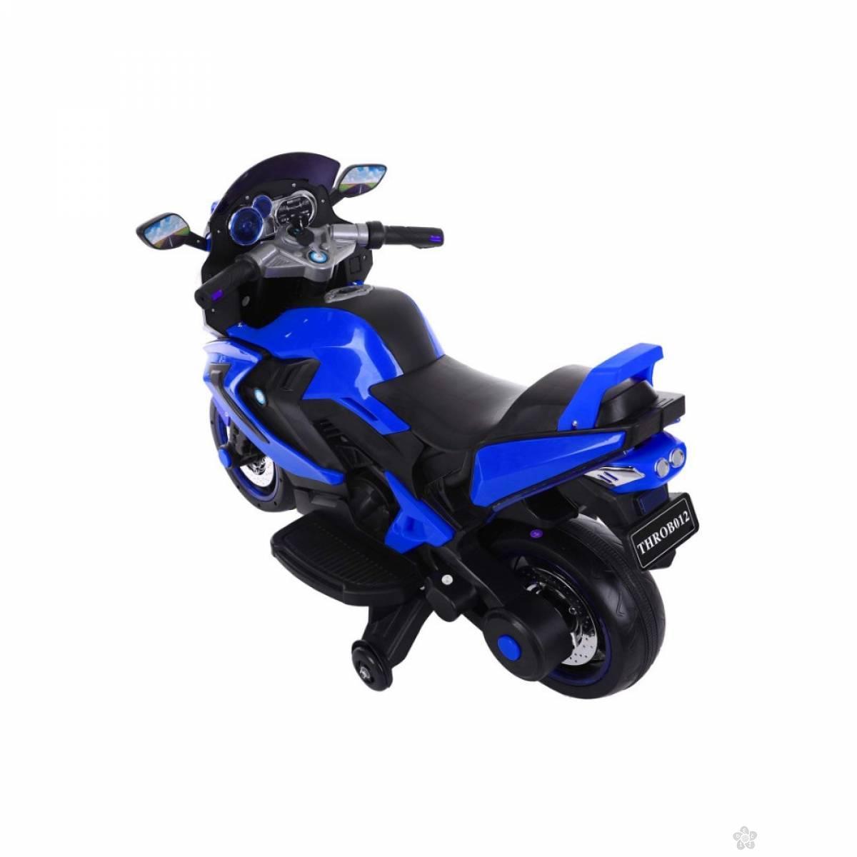 Motor na akumulator, model 118 plavi