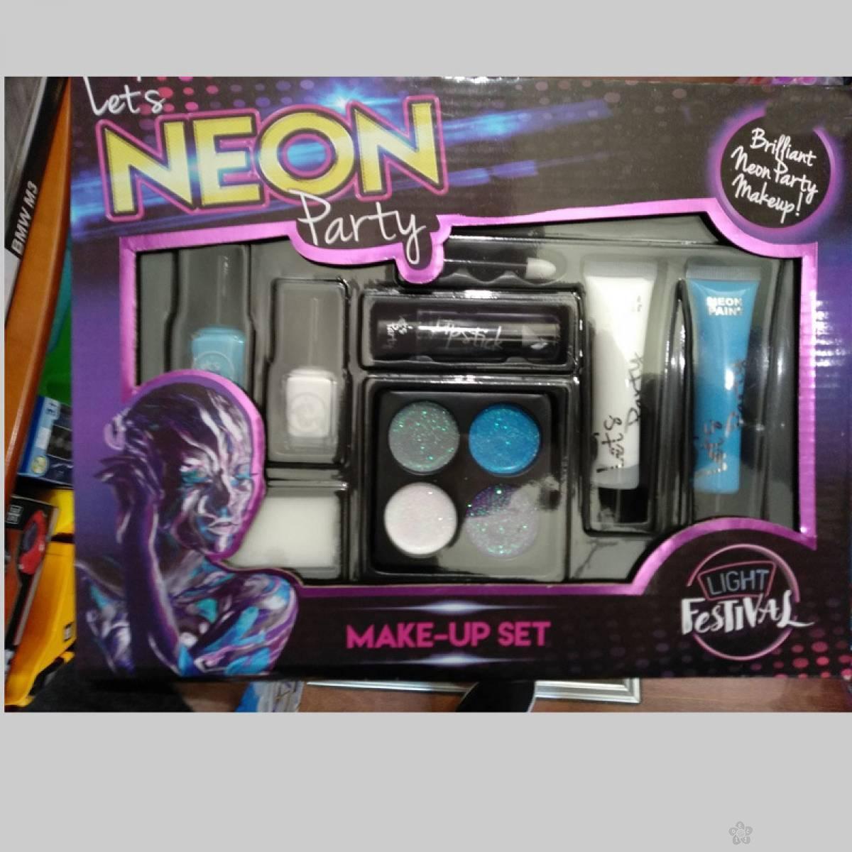 Set za šminkanje Neon Party 761