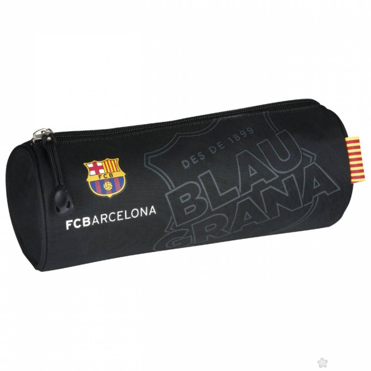 Okrugla pernica FC Barcelona 1 zip Astra 505016046