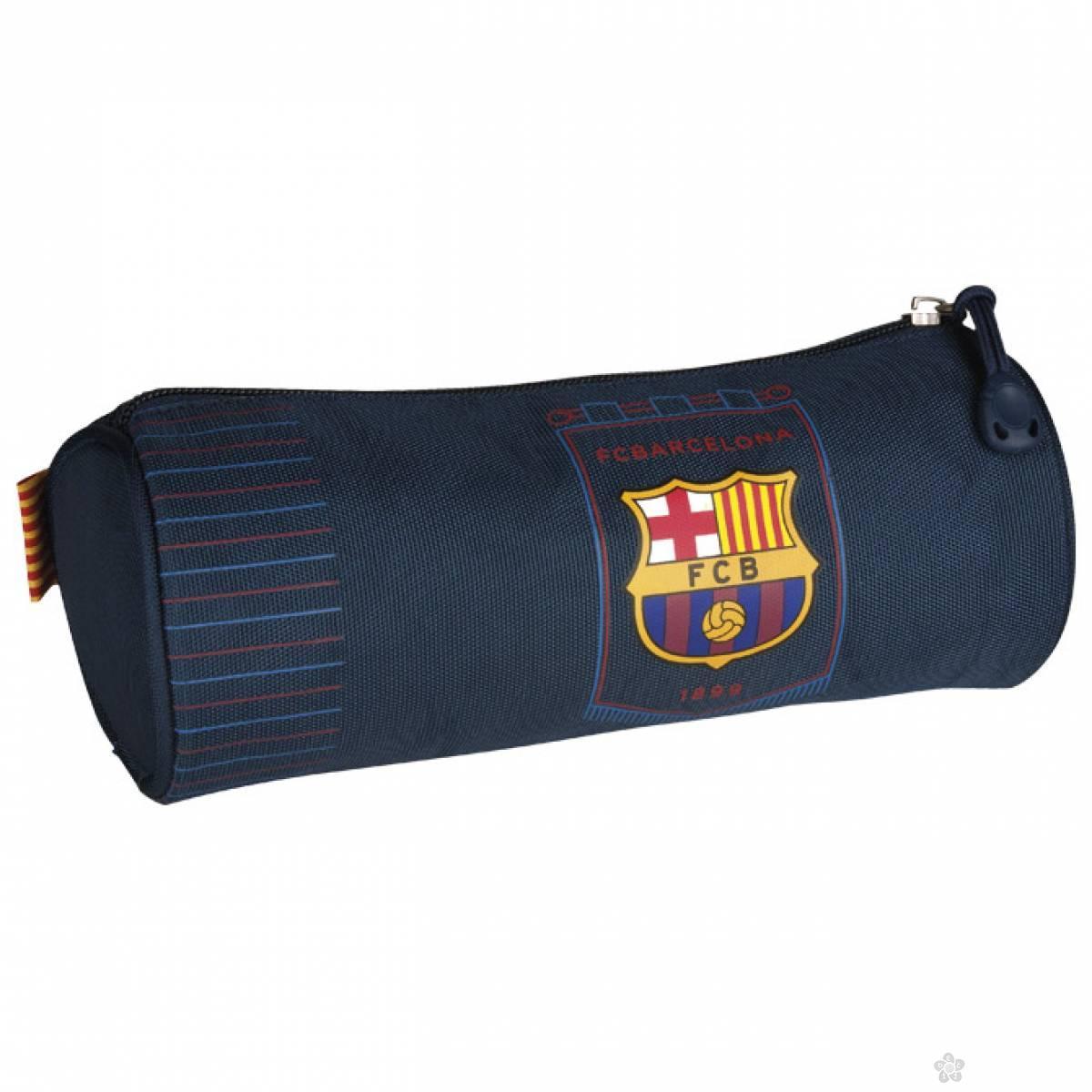 Okrugla pernica FC Barcelona 1 zip Astra 505016003