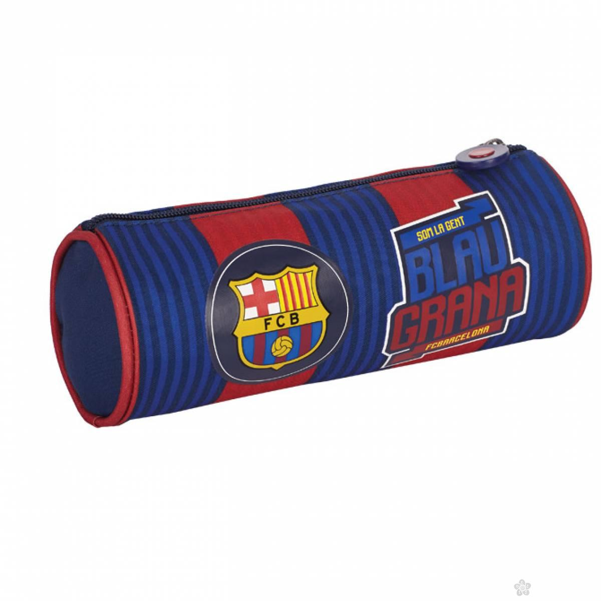 Okrugla pernica FC Barcelona 1 zip FC-137 Astra