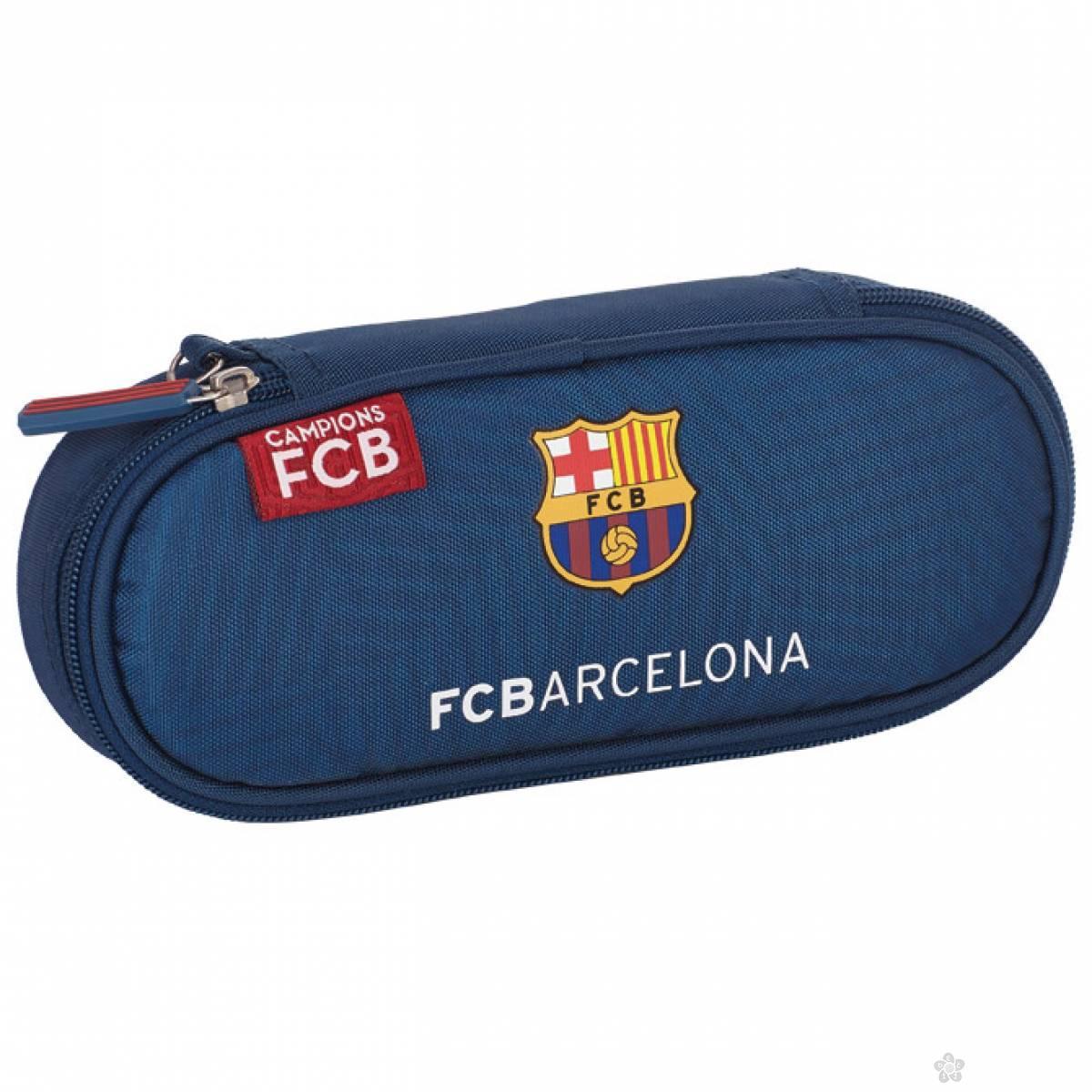 Ovalna pernica Barcelona 1 zip FC-156