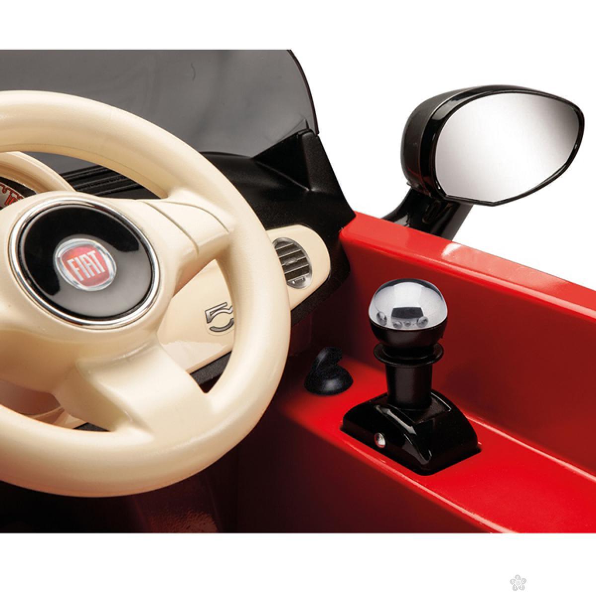 Fiat 500 6v sa Daljinskim Upravljačem Rosa/Grigia IGED1163