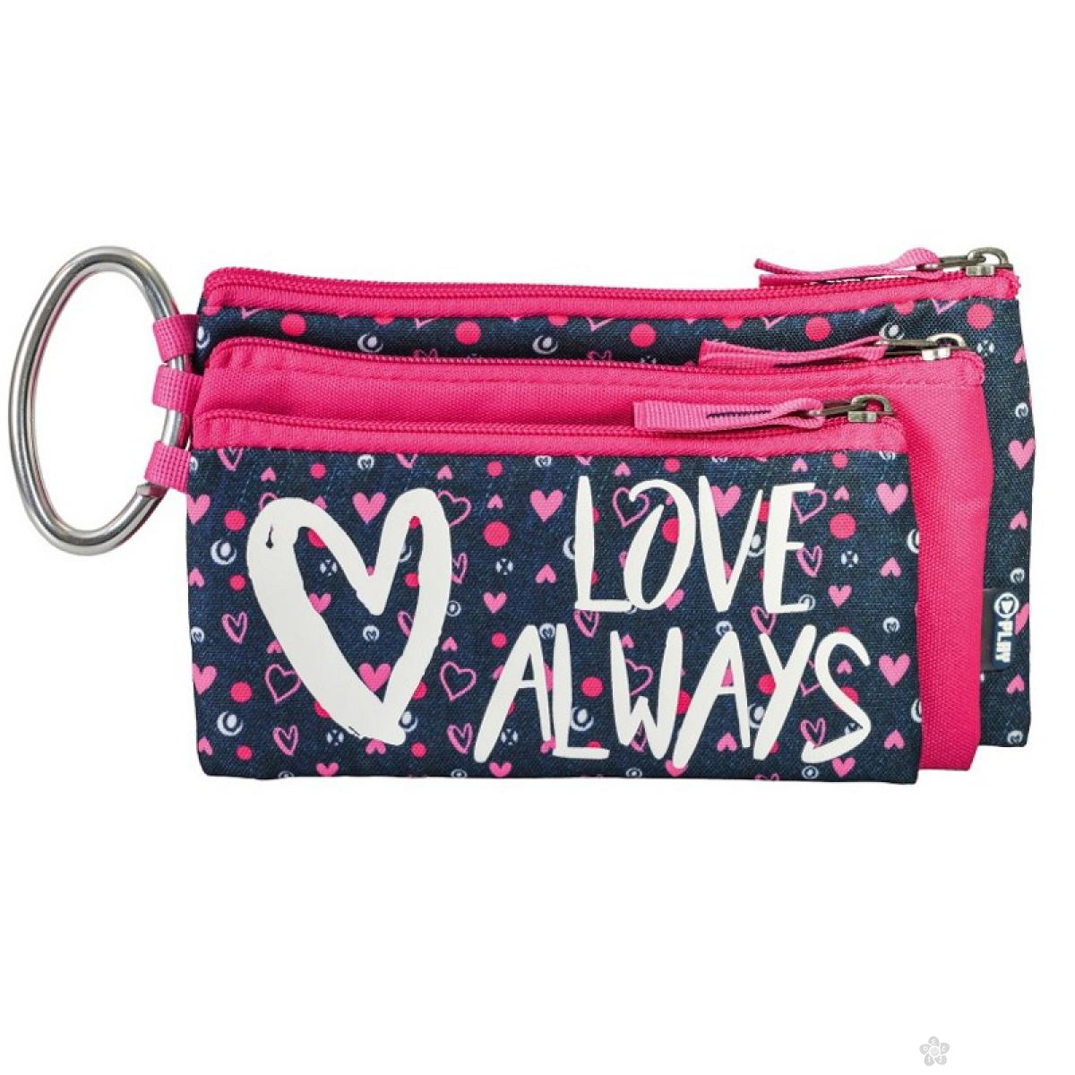 Pernica prazna trodelna Love Always 160669