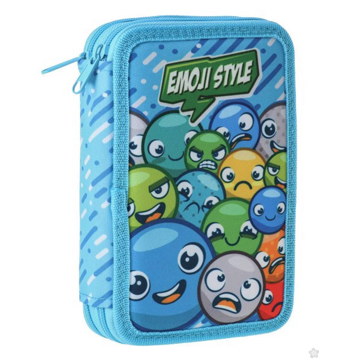 Pernica puna 2 zipa, Double Decker Emoji 100478
