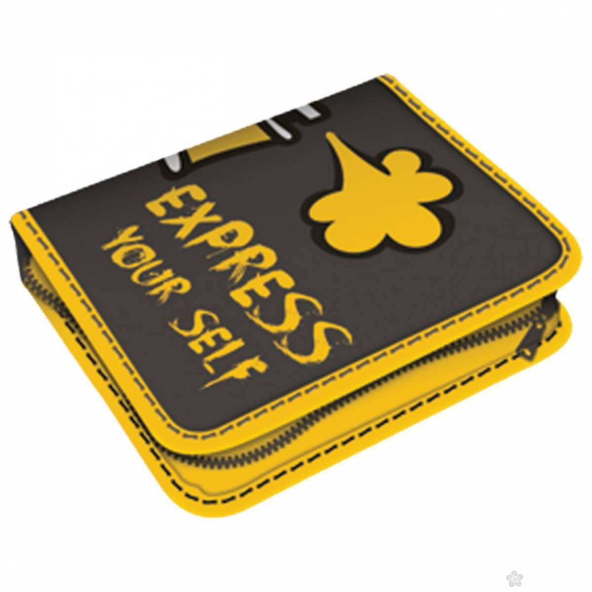 Pernica puna 1zip 2preklopa Express yourself  45055