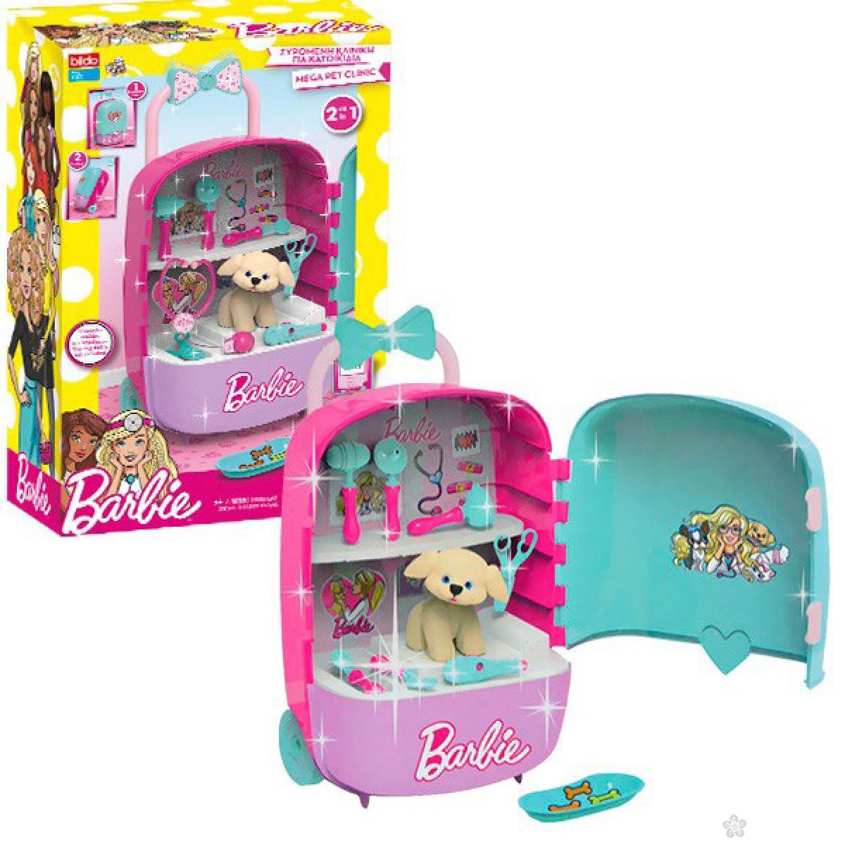 Bildo Barbie Pet Klinika - set u koferu 2181