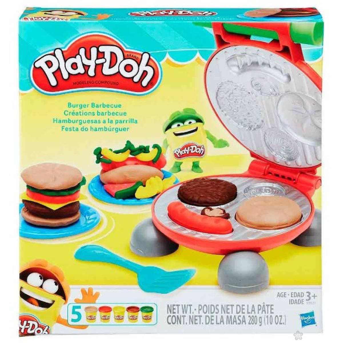 Plastelin set Play Doh roštilj B5521