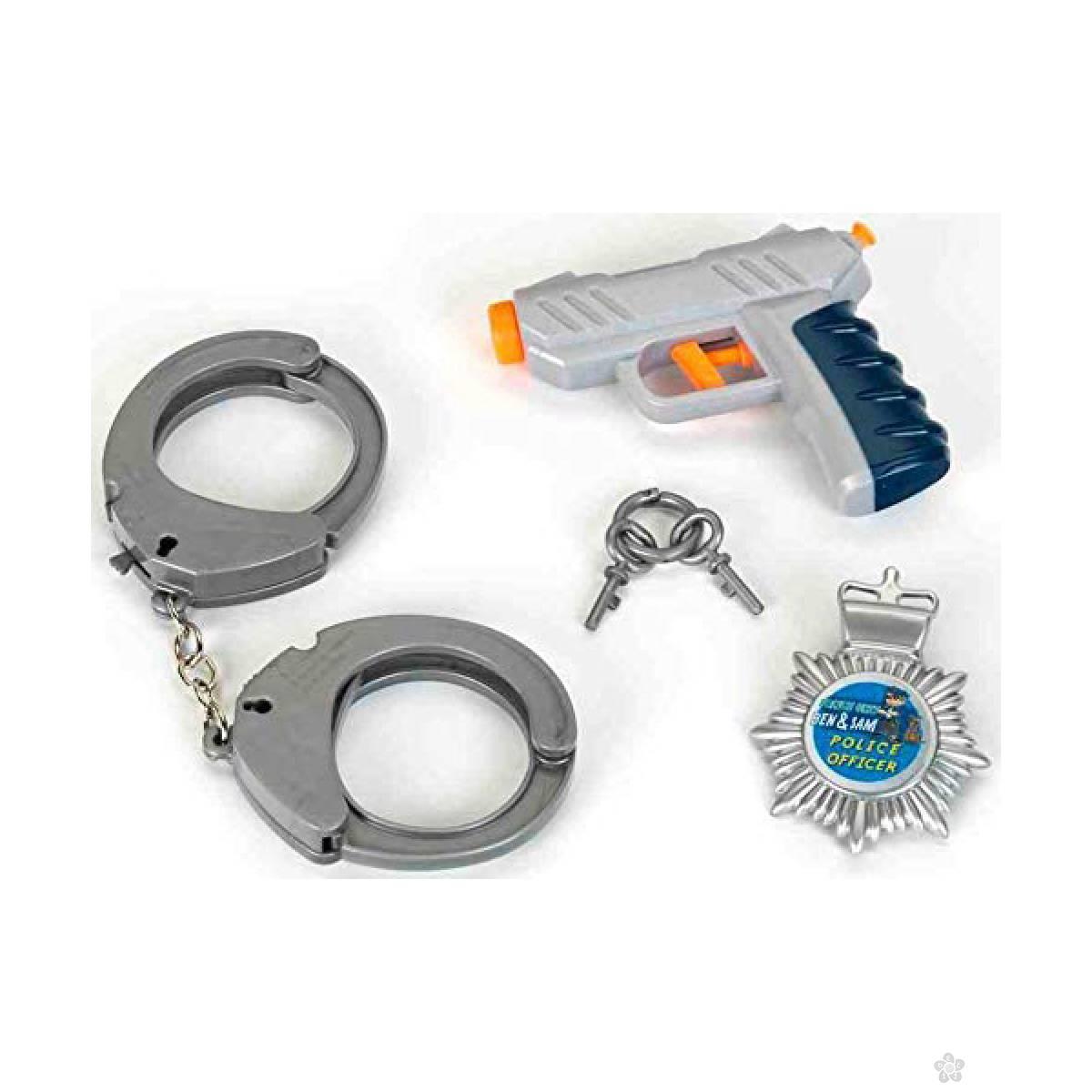 Policijski set 3 dela Klein KL8805