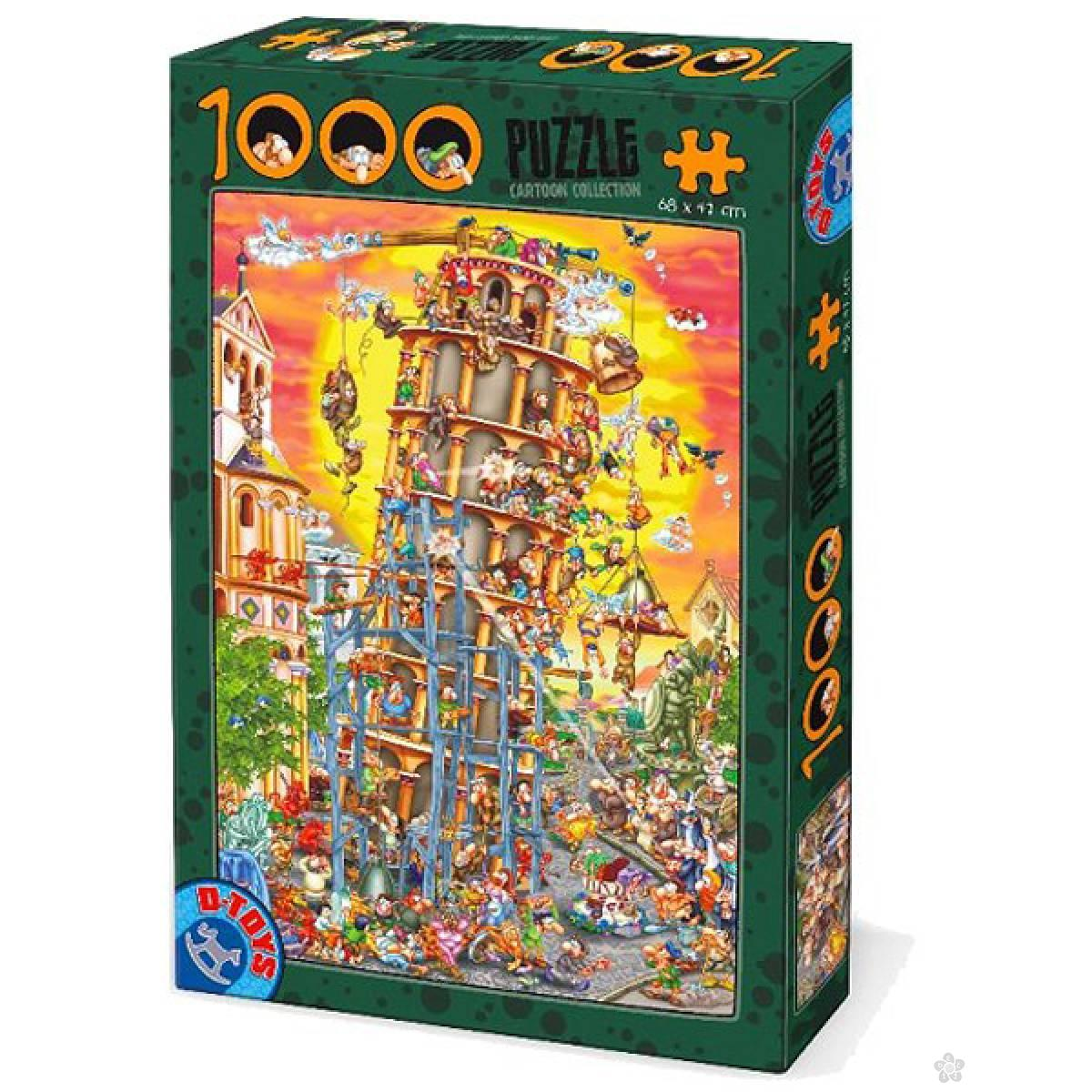 Puzzla Cartoon collection Tower of Pisa 07/61218-01