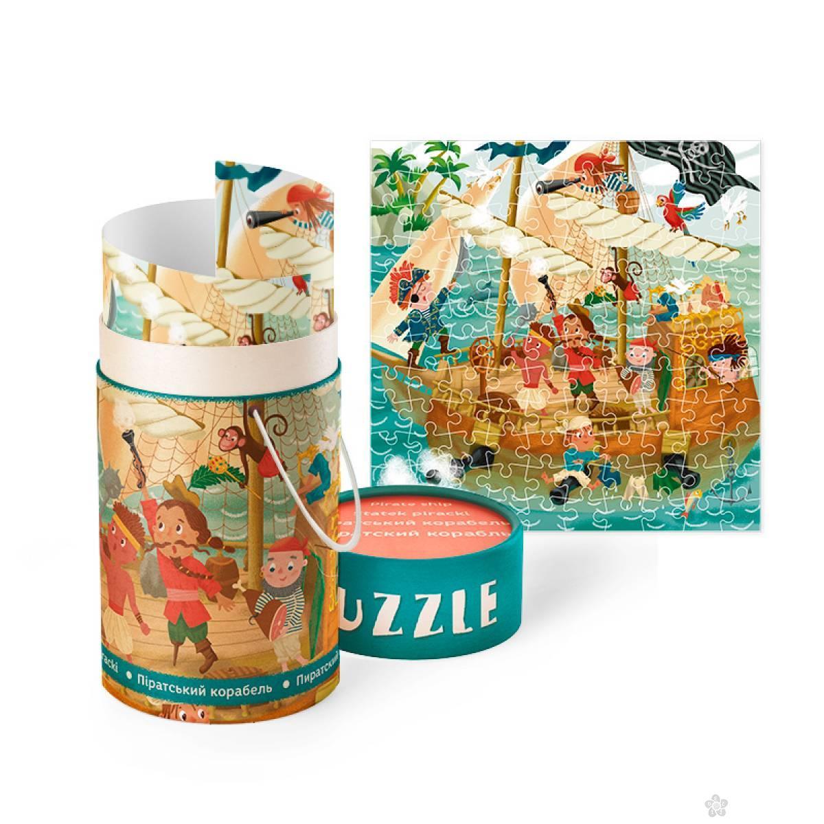 Puzzla Piratski brod COR270